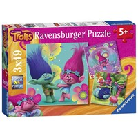 "Ravensburger (09364) - ""Trolls"" - 49 pieces puzzle"