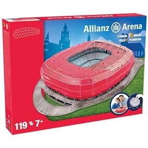 "Nanostad (Bayern) - ""Allianz Arena, Bayern"" - 119 pieces puzzle"