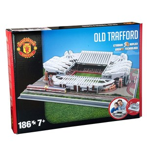 """Nanostad (Manchester) - """"Manchester United, Old Trafford"""" - 186 pieces puzzle"""
