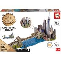 """Educa (17000) - """"Brooklyn Bridge, Manhattan Dream"""" - 160 pieces puzzle"""