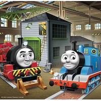 "Trefl (34821) - ""Thomas & Friends"" - 20 36 50 pieces puzzle"