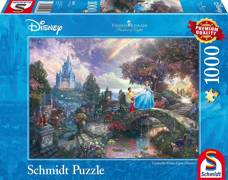 1000 Pcs Disney Raiponce Schmidt Spiele 59480