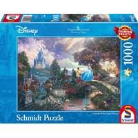 "Schmidt Spiele (59472) - Thomas Kinkade: ""Cinderella"" - 1000 pieces puzzle"