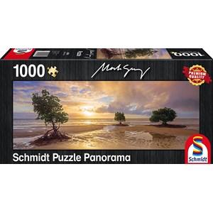 """Schmidt Spiele (59394) - Mark Gray: """"Cape Tribulation, Daintree national Park, Queensland, Australia"""" - 1000 pieces puzzle"""