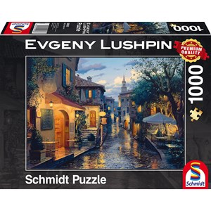 "Schmidt Spiele (59563) - Eugene Lushpin: ""Magical Evening Mood"" - 1000 pieces puzzle"