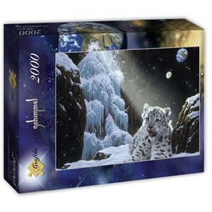 """Grafika (T-00429) - Schim Schimmel, William Schimmel: """"Ice House"""" - 2000 pieces puzzle"""
