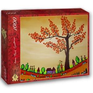 """Grafika (02465) - Anne Poire, Patrick Guallino: """"Paisible"""" - 1000 pieces puzzle"""