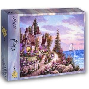 """Grafika (02496) - Dennis Lewan: """"Belle d'Amour"""" - 1000 pieces puzzle"""