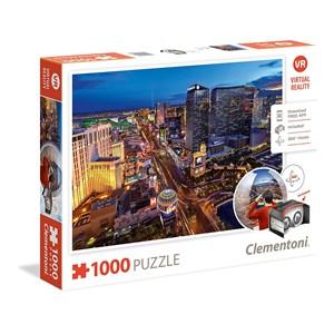 """Clementoni (39404) - """"Las Vegas"""" - 1000 pieces puzzle"""