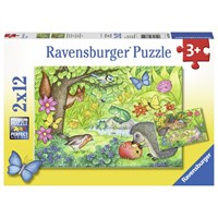 "Ravensburger (07610) - ""Animals in Our Garden"" - 12 pieces puzzle"