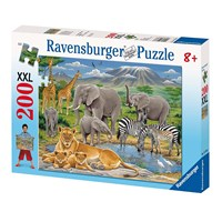 "Ravensburger (12736) - ""African Animals"" - 200 pieces puzzle"