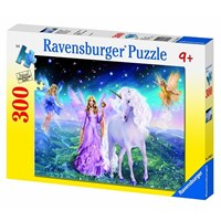 "Ravensburger (13045) - ""Welcome to the Land of Magic"" - 300 pieces puzzle"