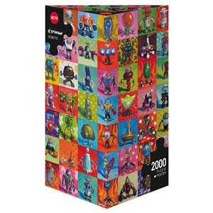 "Heye (29576) - Henry Stinson: ""Robots"" - 2000 pieces puzzle"