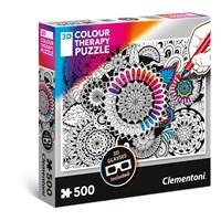 """Clementoni (35053) - """"Mandala"""" - 500 pieces puzzle"""