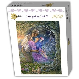 """Grafika (T-00541) - Josephine Wall: """"Love Between Dimensions"""" - 2000 pieces puzzle"""