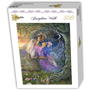 """Grafika (T-00544) - Josephine Wall: """"Love Between Dimensions"""" - 500 pieces puzzle"""