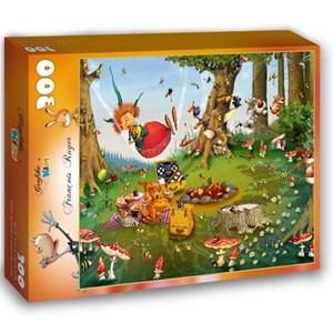 "Grafika Kids (01970) - François Ruyer: ""Witch"" - 300 pieces puzzle"