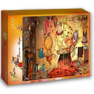 """Grafika (02663) - François Ruyer: """"The Bath"""" - 300 pieces puzzle"""