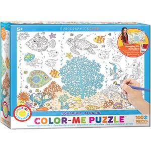 """Eurographics (6111-0894) - """"Aquarium"""" - 100 pieces puzzle"""