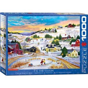 "Eurographics (6000-5334) - Patricia Bourque: ""T'is the Season"" - 1000 pieces puzzle"