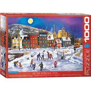 "Eurographics (6000-5335) - Patricia Bourque: ""After School"" - 1000 pieces puzzle"