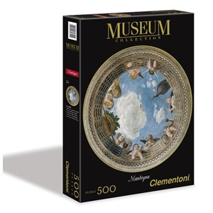 "Clementoni (30321) - Andrea Mantegna: ""Affreschi Palazzo Ducale Mantova"" - 500 pieces puzzle"