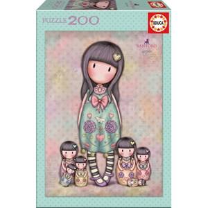"Educa (17192) - Santoro Gorjuss: ""Seven Sisters"" - 200 pieces puzzle"