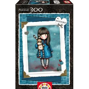 "Educa (16188) - Santoro Gorjuss: ""Hush Little Bunny"" - 300 pieces puzzle"