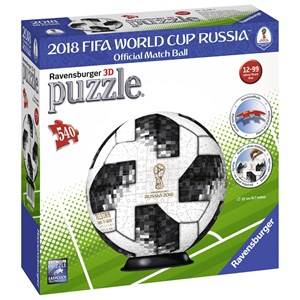 """Ravensburger (12437) - """"Matchball 2018 FIFA World Cup"""" - 540 pieces puzzle"""