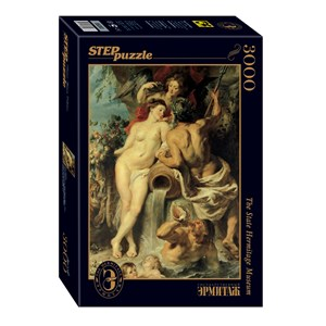 "Step Puzzle (85203) - Peter Paul Rubens: ""The Union of Earth and Water"" - 3000 pieces puzzle"