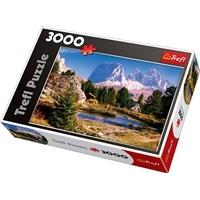 """Trefl (33012) - """"A Lake In Dolomites"""" - 3000 pieces puzzle"""