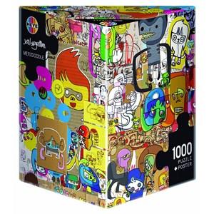 "Heye (29490) - Jon Burgerman: ""Merzdoodle"" - 1000 pieces puzzle"