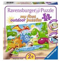 """Ravensburger (56118) - """"Dinosaur Friends"""" - 12 pieces puzzle"""