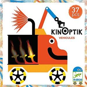 "Djeco (05601) - ""Kinoptik Vehicles"" - 37 pieces puzzle"