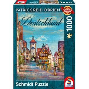 """Schmidt Spiele (59582) - Patrick Reid O'Brien: """"Germany"""" - 1000 pieces puzzle"""