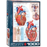 "Eurographics (6000-0257) - ""The Heart"" - 1000 pieces puzzle"