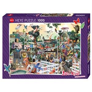 "Heye (29863) - Sanda Anderlon: ""In The Hills"" - 1000 pieces puzzle"