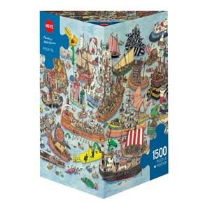 """Heye (29891) - Mattias Adolfsson: """"Regatta"""" - 1500 pieces puzzle"""
