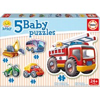 "Educa (14866) - ""Baby vehicles"" - 3 4 5 pieces puzzle"