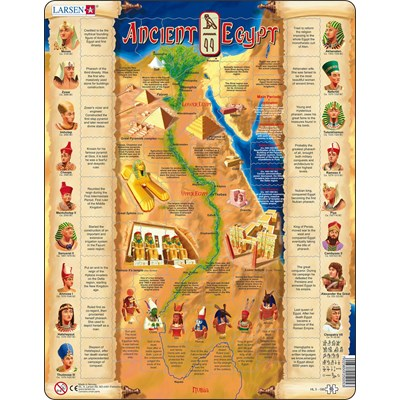"Larsen (HL5-GB) - ""Ancient Egypt"" - 95 pieces puzzle"
