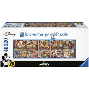 "Ravensburger (17828) - ""Mickey Mouse through the Years"" - 40000 pieces puzzle"