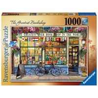 "Ravensburger (15337) - ""The Greatest Bookshop"" - 1000 pieces puzzle"