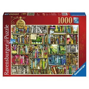 "Ravensburger (19226) - Colin Thompson: ""The Bizarre Bookshop"" - 1000 pieces puzzle"