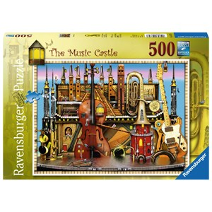 "Ravensburger (14779) - Colin Thompson: ""The Music Castle"" - 500 pieces puzzle"