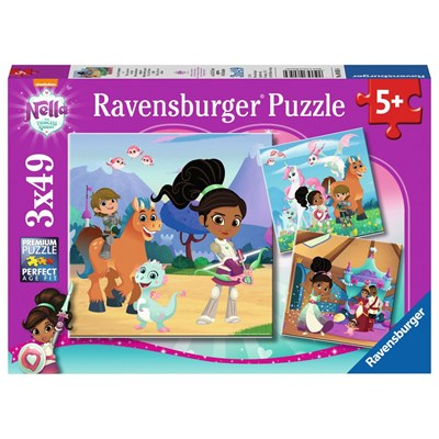 "Ravensburger (08056) - ""Nella the Princess Knight"" - 49 pieces puzzle"
