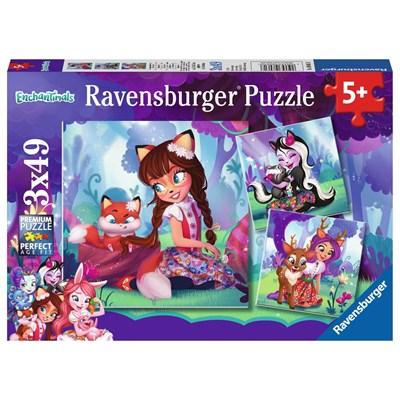 """Ravensburger (08061) - """"Enchantimals"""" - 49 pieces puzzle"""