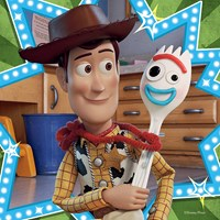 """Ravensburger (08067) - """"Toy Story 4"""" - 49 pieces puzzle"""