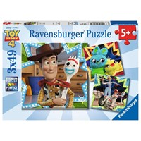 "Ravensburger (08067) - ""Toy Story 4"" - 49 pieces puzzle"