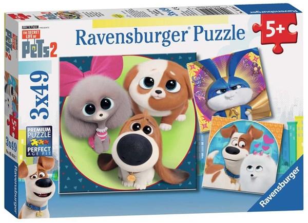 """Ravensburger (05014) - """"The Secret Life of Pets 2"""" - 49 pieces puzzle"""