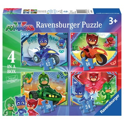 "Ravensburger (06974) - ""PJ Masks"" - 12 16 20 24 pieces puzzle"